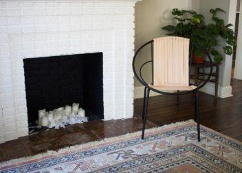 Оригінальний стілець зі шкіряних стрічок: майстер-клас