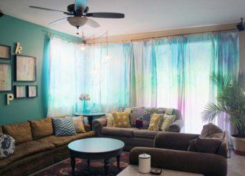 Оригінальні штори, які цілком можливо пошити самостійно: 15 ідей
