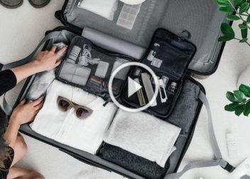 Корисні лайфхаки пакування валізи: відео-урок