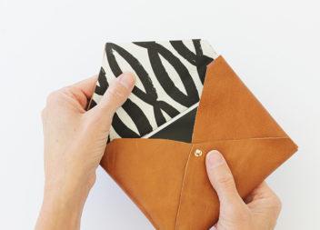 Клатч-конвертик своїми руками (фото-урок)