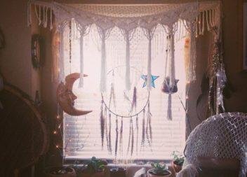 11 особливих ідей облаштування кімнат з ловцем снів