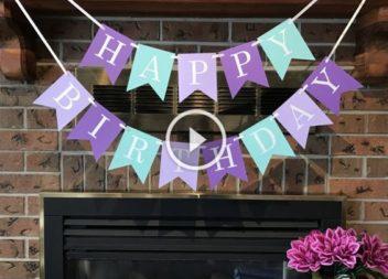 Ідеї для вечірки з нагоди дня народження: відео-урок