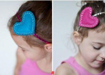 Аксесуари для волосся для дівчаток: 6 майстер-класів