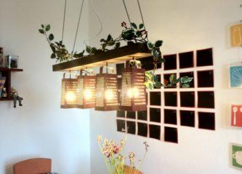 Світильники на кухню: 15 геніальних ідей та майстер-клас