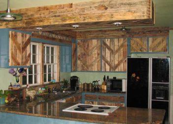 Дерев'яний декор у кухні: 17 ідей