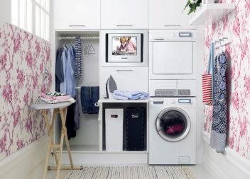 17 красивих ідей інтер'єру для пральні