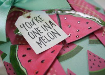 "Майстер-клас: подарунковий пакетик ""YOU'RE ONE IN A MELON"""
