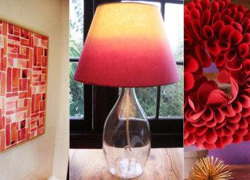15 файних ідей доповнити кімнату декором червоного кольору