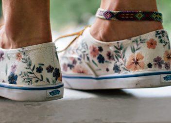 Розмальовуємо самостійно взуття: фото-урок