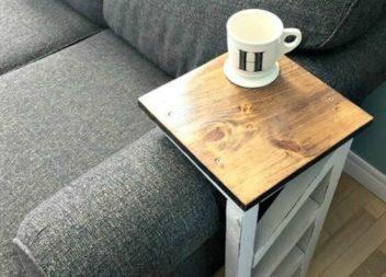 Майструємо підставку до дивана: майстер-клас
