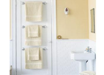 Вішаки для рушників у ванній: 21 ідея