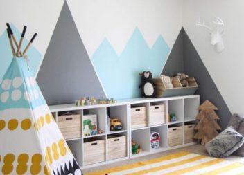 10 креативних ідей дизайну для дитячої кімнати