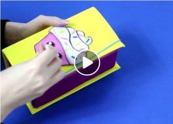 Оригінальний органайзер (пенал) своїми руками: відео