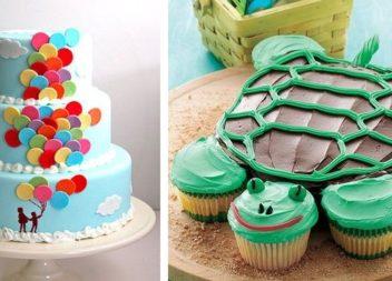 Підбірка дитячих тортів. Фото-ідеї!