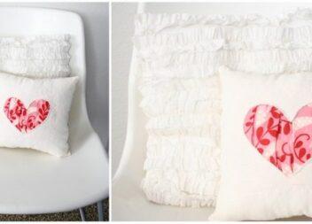 Подушка з сердечком. Детальний покроковий майстер-клас