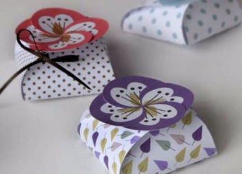 Коробочки з картону. Шаблони!