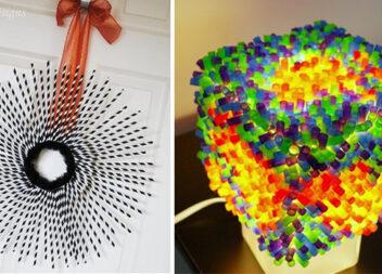 10 цікавих ідей використати пластикові трубочки