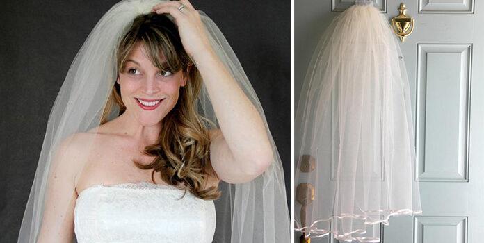 Фото-урок: робимо класичну фату для нареченої самотужки