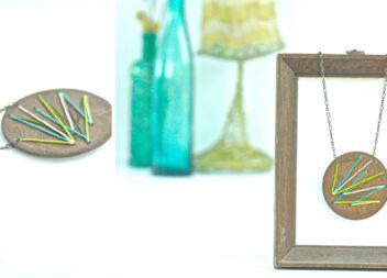 Вишиваємо дерев'яну підвіску: красивий подарунок своїми руками