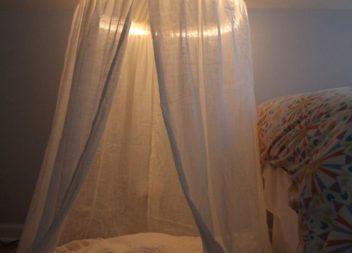 Ліжко з балдахіном. Підбірка ідей
