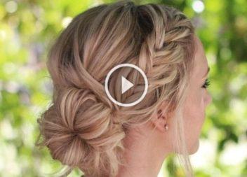 Як заплести косу на коротке волосся: відео-урок