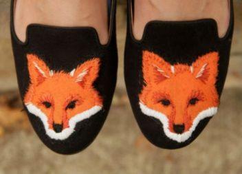 Оздоблюємо взуття лисичками