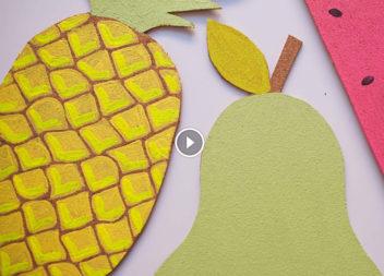 Корковий стенд у формі ананаса. Відео-урок!