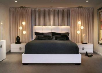 17 величних дизайнерських ідей освітлення спальної кімнати
