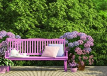 18 гарних ідей лавок для саду