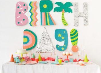 Тематичні дитячі вечірки: фото-ідеї
