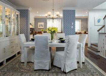 18 ідей чохлів на стільці, які оновлять зовнішній вигляд вашої кухні
