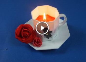Чайна свічка! Відео