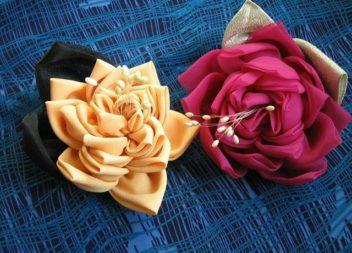 Квіти із тканини своїми руками: майстер-клас
