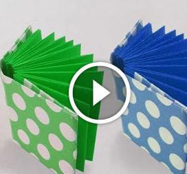 Міні-книжечка в техніці орігамі