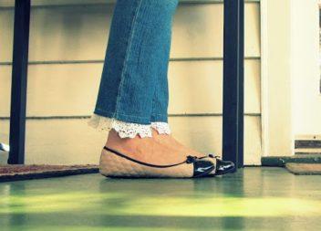 Ультрамодні джинси з мереживом: майстер-клас