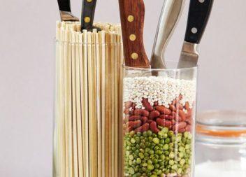 Підставка для ножів. Фото-ідеї