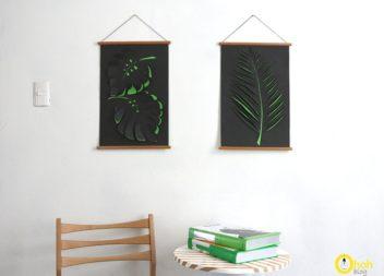 Робимо красиве панно на стіну: майстер-клас
