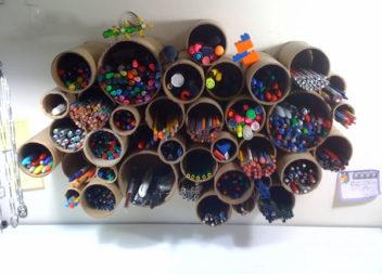 Креативні ідеї органайзерів для олівців