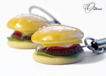 Гамбургери із полімерної глини: майстер-клас
