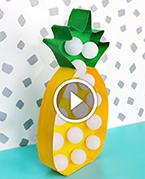 Нічник у вигляді ананаса. Майстер-клас