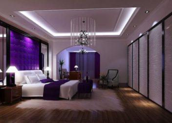 Інтер'єр у пурпуровому кольорі: 19 прекрасних ідей