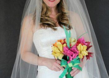 Фото-урок: робимо класичну фату для нареченої самотужки!
