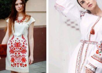 Сучасні вишиті сукні. Підбірка ідей!