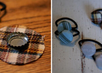 Перетворюємо корки від скляних пляшок у аксесуар для волосся