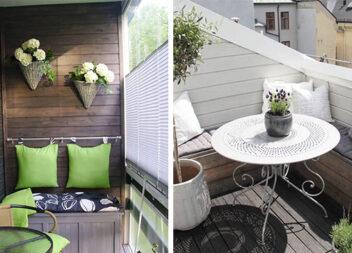 Ідеї для відкритих балконів