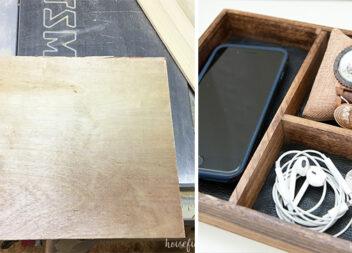 Дерев'яна коробка для подарунків своїми руками