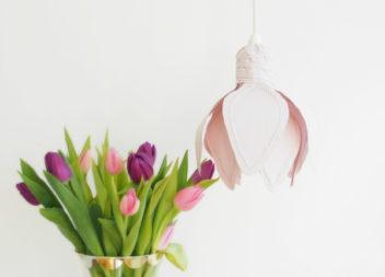 Світильник у вигляді квітки
