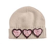 Декоруємо шапку сердечками