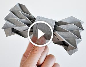 Паперовий метелик. Відео-урок