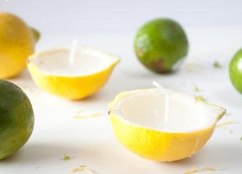 Лимонні свічки